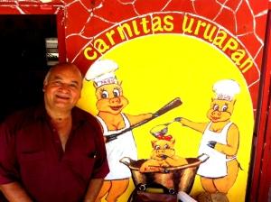 Raul at Carnitas Uruapan