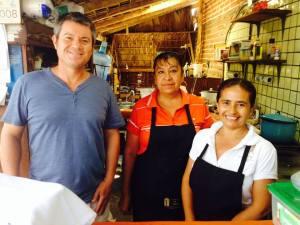 Erik and Staff at El Zaguan