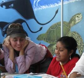 Volunteering at the Palapa Society