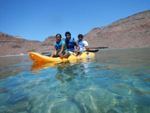 JEP Kids on Isla Espiritu Santo Kayaking and Camping Trip May 2013