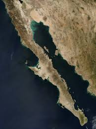 Google Earth Image of the Baja Peninsula