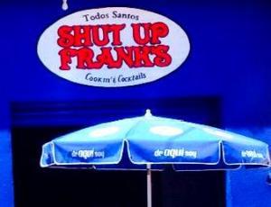 Shut up franks.logo